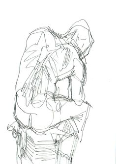 Drawing by Ödön Kunyi, pen on paper, 2012