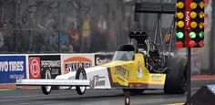 Congrats to Anita Mäkelä for winning the Santa Pod event with Top Fuel  Dragster! She made european record with 3,912 seconds at the finish line!