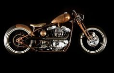 Amazing Copper Cafe Racer!