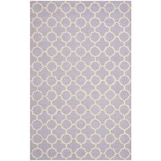 Safavieh Cambridge Lavender/Ivory Area Rug & Reviews | Wayfair