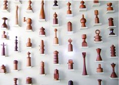 Photo: Nordiska Style I've been eyeing Dansk pepper mills for quite a long time, and I recently (finally) got one! Dansk re-released . Chess Pieces, Displaying Collections, Display Shelves, Display Ideas, Elle Decor, Retail Design, Wood Turning, The Collector, Decoration