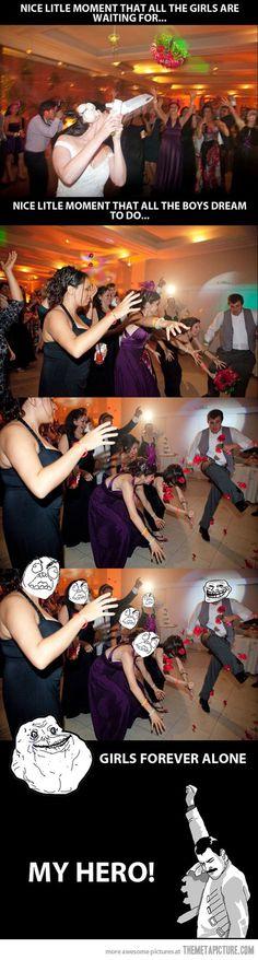 Wedding bouquet throw