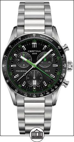 Certina C024.447.11.051.02 - Reloj para hombres, correa de acero inoxidable color plateado de  ✿ Relojes para hombre - (Gama media/alta) ✿