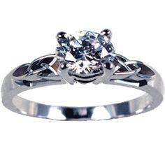 Celtic irish wedding rings