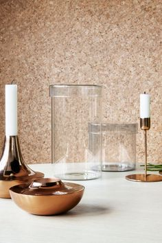 Caja de vidrio con tapa | H&M