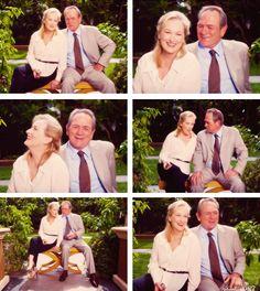 """Meryl & Tommy Lee Jones, """"Hope Springs"""" Press Conference - 2012"""