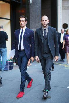 Photos: Best-Dressed Street Style at New York's Fashion Week | Vanity Fair