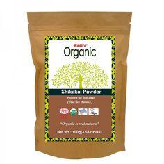 Radico Poudre d'Amla Bio, 100 g - Boutique en ligne Ecco Verde Shikakai Powder, Mademoiselle Bio, Indigo, Hair Dandruff, Organic Fruit, Hair Color, Vegan, Products, Natural Hair
