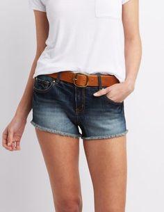 Refuge Shortie Cut Off Shorts #CharlotteLook