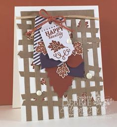 Stampin' Up! Paper Pumpkin September 2015 kit. I have lots of additional projects shown on my blog! Debbie Henderson, Debbie's Designs.
