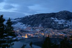 Sogndal, 23 December, 4pm. | Flickr - Photo Sharing!