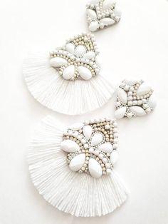 Prom Earrings, Bride Earrings, Bridesmaid Earrings, Rhinestone Earrings, Wedding Earrings, Tassel Earrings, Bridesmaid Gifts, Statement Earrings, Boho Wedding Ring