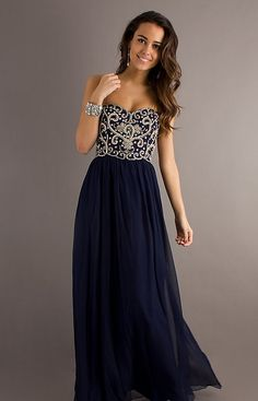 2013 New Style Bead Strapless Prom Dresses