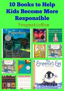 10 Books to Help Kids Become More Responsible - various age and reading levels Responsive Classroom, E Mc2, Reading Rainbow, Character Education, Art Education, Kids Reading, Reading Lists, Reading Fluency, Reading Time