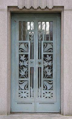 Cemetery Door