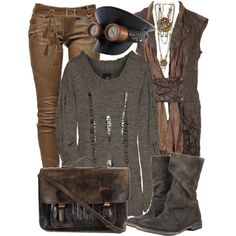 A fashion look from February 2014 featuring Just Cavalli sweaters, Balmain and AllSaints boots. Browse and shop related looks.