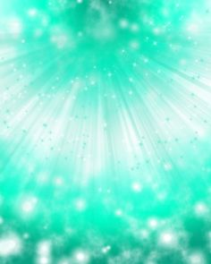 Sea Green Sparkles Background by YuniNaoki