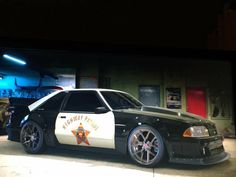 A. C. A. B. Fox Body Mustang, Mustang Cobra, Ford Mustang Gt, Old American Cars, American Muscle Cars, Mustang Hatchback, Ford Fox, Ford Police, Police Cars