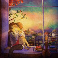 I love you. I love you too.  grafolio.com/works/227834