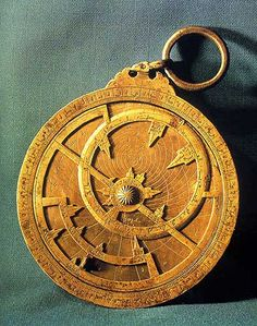 An astrolabe photo obtained in the earlier days of Paradoxplace, and we cannot presently trace the source.