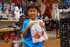 【大阪店】2014.06.29 バスケをやられているとのことでお気に入りの一着をご購入いただきました^^また遊びに来てくださいね^^