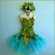 Items similar to Fairy Costume - Woodland Fairy - Earth Faerie - Mother Nature - Grotto Faerie Queene on Etsy Costume Halloween, Fairy Costume Diy, Nymph Costume, Woodland Fairy Costume, Diy Costumes, Fall Halloween, Costume Ideas, Fairy Clothes, Fairy Dress