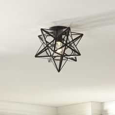 Kitchen Lighting Remodel Nikki Flush Mount - Influenced by the traditional Star design, this Nikki Star Flush Mount adds a cultural quality to your space and is offered with clear for two distinct looks. Kitchen Ceiling Lights, Kitchen Lighting Fixtures, Led Ceiling, Light Fixtures, Office Ceiling, Ceiling Fixtures, Ceiling Fan With Remote, Rustic Lighting, Lighting Ideas