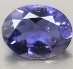 1.14 ct Natural purplish blue Iolite loose gemstone #gems #gemstone #jewelry #jewel #luxury #rich #buygems #mineral #stones