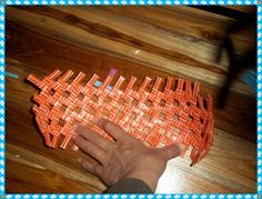 How to Weave Bag from Drinking Straw | D . I . Y . br Done ! It s Yours !