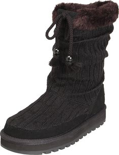 Skechers Women's Keepsakes Blur Winter Slouch Boot -- Additional details at the pin image, click it