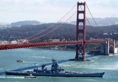 USS Iowa - Happy Birthday Golden Gate!
