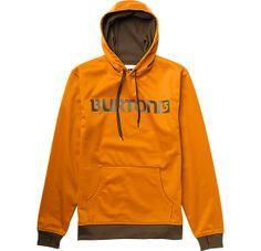 Pullover bonded hoodie.