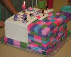 Lego Friends cake by KB Cakes www.kbcakes.me