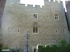 The Beauchamp Tower where Anne Boleyn was held prisoner