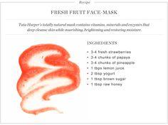 fresh-fruit mask from tata harper