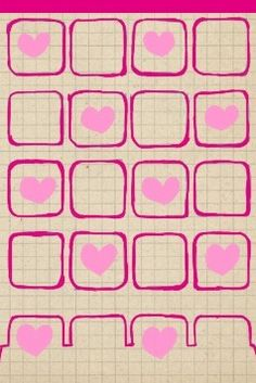❤Cute Valentines Day Note iPhone Wallpaper❤