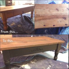 my diy pottery barn lookalike coffee table