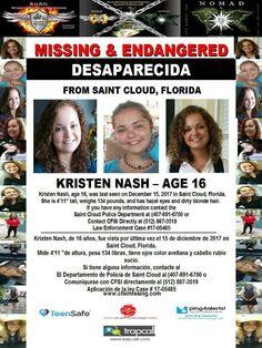 Find Missing Kristen Nicole Nash!