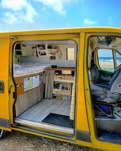Sunshine daisy's butter mellow... We love a yellow camper! Especially @dimitri_ppj 's -check out that interior!! 🚍 via 📷 @cool.cn Did you know we have instagram? https://www.instagram.com/coolcampervans/ Follow CoolCampervans on there for amazing campervans 🚙 and vanlife inspiration. DM ✍or #coolcampervans to get featured 😮