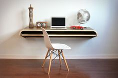 The Perfect Office - Minimal Float Wall Desk, Razer Star Wars Keyboard and more!