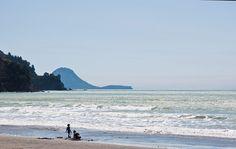 Ohope Beach and Motuhora, Bay of Plenty, New Zealand