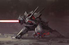 ArtStation - Spearhead, Mingchen Shen