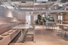 Havas HQ in The Rocks, Sydney by Hammond Studio Australian Interior Design, Interior Design Awards, Tiered Seating, Working Wall, Floor Sitting, Banquette Seating, Workplace Design, Hospitality Design, Built Environment