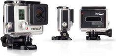 GoPro Hero 3+ Silver Edition (10MP, 60p, Grau, Schwarz): Produktbild