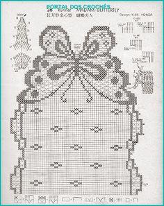 CENTRO EM CROCHÊ COM BORBOLETAS. http://portaldoscroches.blogspot.com/2013/10/centro-em-croche-com-borboletas.html?spref=fb&m=1