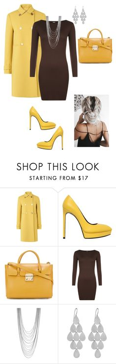 """Untitled #366"" by annalynn2424 ❤ liked on Polyvore featuring L.K.Bennett, Yves Saint Laurent, Furla, WearAll, BCBGeneration and Irene Neuwirth"