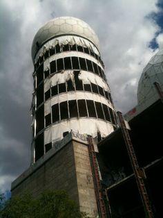 Tefelsberg, an abandoned Cold War spy listening outpost in Berlin
