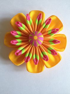 Kanzashi flower - new