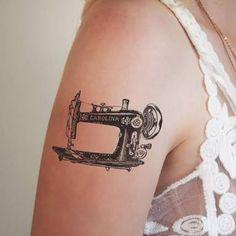 sewing machine tattoo - Buscar con Google