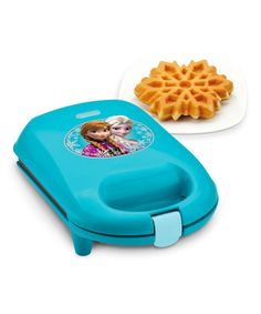 Loving this Frozen Snowflake Waffle Maker on #zulily! #zulilyfinds